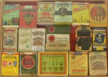 Rare Cigarette Pack and Box Collection