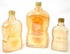 Quart, Pint, Half Pint Whiskey Bottles