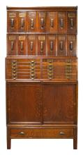 Globe Barrister Four Part Filing Cabinet