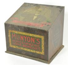 Munyons Homoeopathic Medicine Display