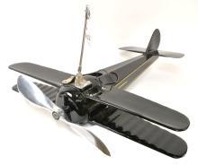 Rare Fan-O-Plane Bi-Plane Airplane Fan