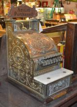 National Candy Store Cash Register