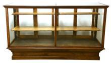 Outstanding Oak Floor Model Showcase