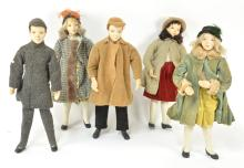 1930s Fashion Clothing Mannequin Doll Displays