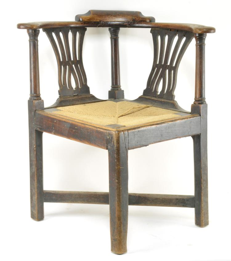 Chippendale Chairs Auction Chippendale Corner Chair