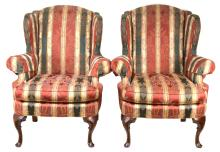 Formal Lane Wing Back Chairs