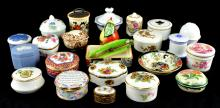 Fine Porcelain Trinket Box Collection