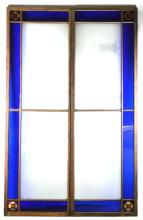 Antique Stained Glass Doors