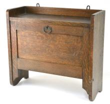 Mission Oak Shaving Cabinet