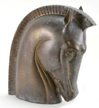 Phillips Art Deco Bronze Horse