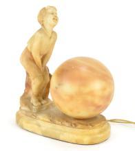 Italian Art Deco Lamp