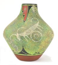 Ralph Aragon Pottery Vessel