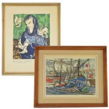 Michel-Marie Poulain Lithographs