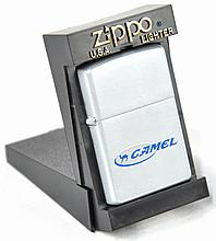 Royal Blue Camel Zippo Lighter