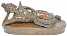 Bronze Recumbent Buddha Statue