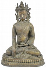 Bronze Amitayus Statue