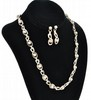 Mexican Sterling Necklace and Earring Set