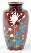 Asuke Cloisonne Vase