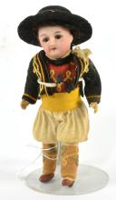 French Bisque Boy Doll