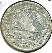 1838 Zs, Mexico, 8 Reales