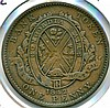 1842, Canada, Bank of Montreal, Penny Token