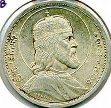 1938, Hungary, 5 Pengo