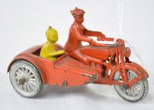 Tootsietoy Smitty Motorcycle