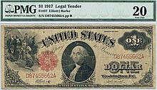 1917 $1.00 Legal Tender Note