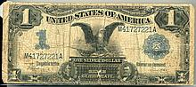 1899 $1.00 Black Eagle Note
