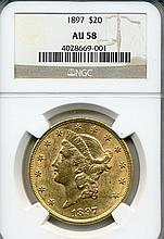 1897 $20.00 Gold Liberty Head