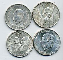 Mexico Silver Pesos Group Lot