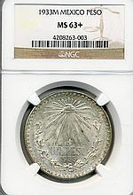 1933-M Mexico Pesos