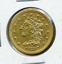 1837-C $2.50 Classic Head
