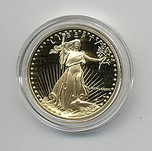 1986 $50.00 Proof Gold Eagle