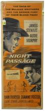 Night Passage Cowboy Movie Posters