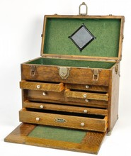 Gerstner and Sons Oak Machinists Tool Chest