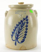 F. B. Norton Sons Decorated Jar