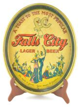 Falls City Lager Beer Tray