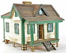 Folk Art Doll House;