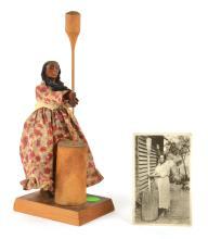 Cherokee Indian Corn Woman
