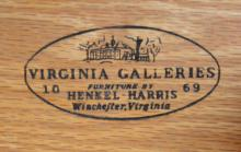 Henkle Harris Black Cherry Dresser
