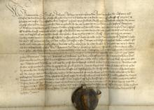 Medieval German Blacksmith Document