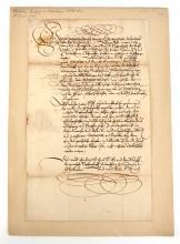 German C. M. Von Brandenburg-Bayreuth Document