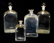 Hand Blown Apothecary Bottles