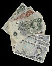 ENGLISH PAPER MONEY.  A CACHE OF BANKNOTES  comprising Beale 10 Shilli