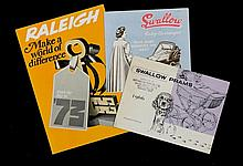 TRADE CATALOGUES.  AN EXTENSIVE COLLECTION OF BRITISH BABY CARRIAGE MA