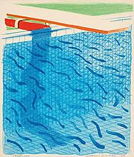 DAVID HOCKNEY born 1937, British Paper Pools 1980