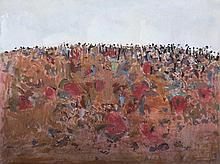 FRED WILLIAMS (1927-1982) You Yangs 1964 gouache