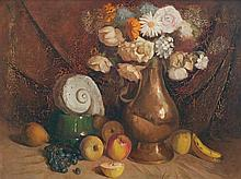 JUSTIN OBRIEN (1917-1996) Untitled (Still Life of