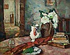 BESSIE DAVIDSON (1879-1965) Still Life - Interior